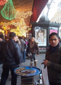 Chestnut seller in Paris