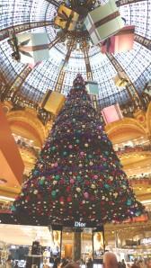 Immense Christmas Tree--Galarie Lafayette
