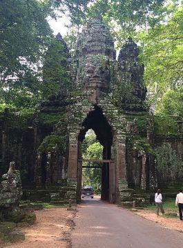 Buddha gate