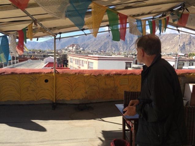 Tibet distant Potala