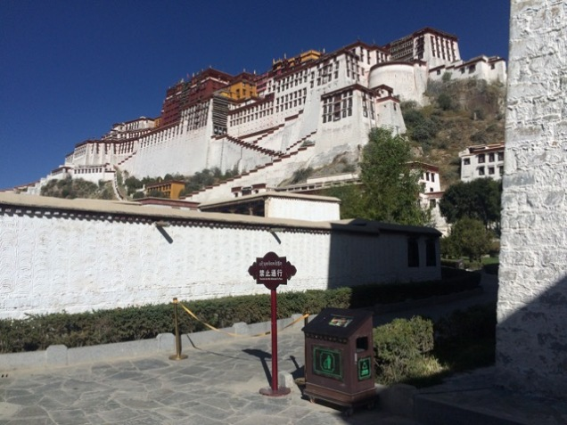 Tibet Potala close