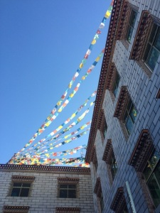 Tibet prayer flags