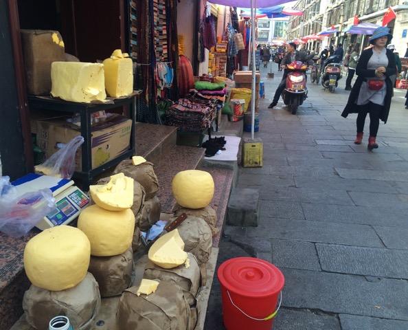 Tibet yak butter